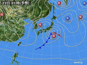 東京大雪回避か