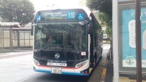 トヨタ製なのにヒュンダイマークが付いていると勘違いして乗った井30系統の水素バス、行き先の駅名がやり過ぎ